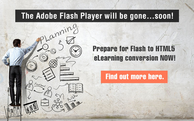 Flash to HTML5 eLearning Conversion: What to Expect
