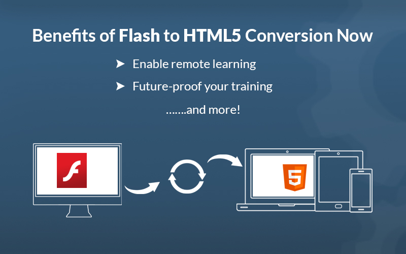 Flash to HTML5 Conversion for eLearning: It's Now or Never
