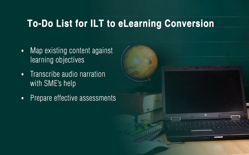 Can You Automatically Convert ILT Material into eLearning Curriculums? [Infographic]