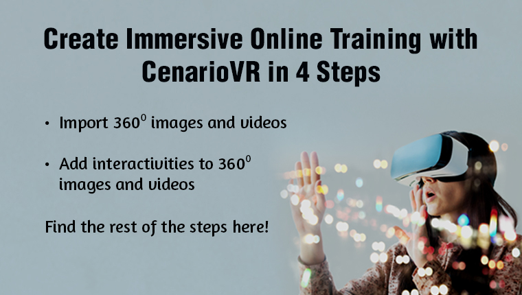 CenarioVR: Your Tool of Choice for Immersive Learning Experiences