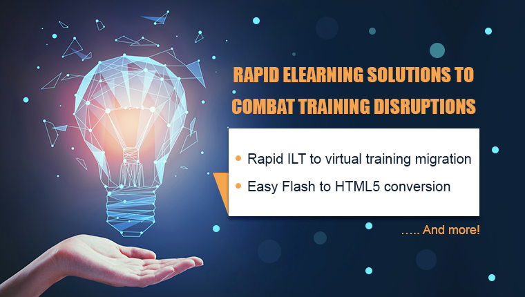 Rapid eLearning: The Answer to Training Woes during COVID-19