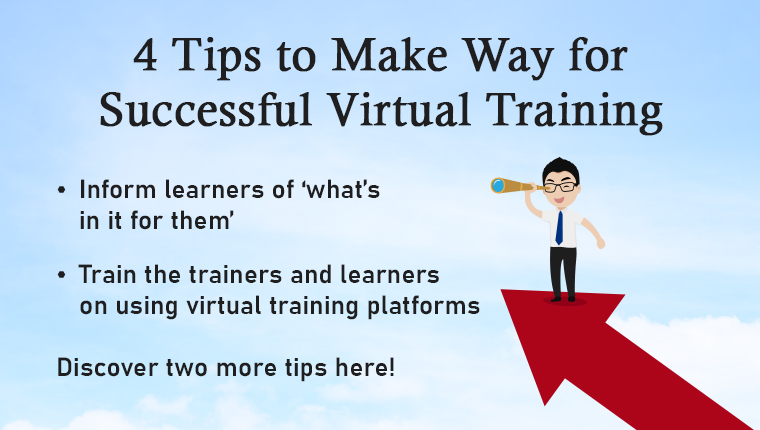 4 Tips for a Successful Virtual Instructor-led Training [Infographic]