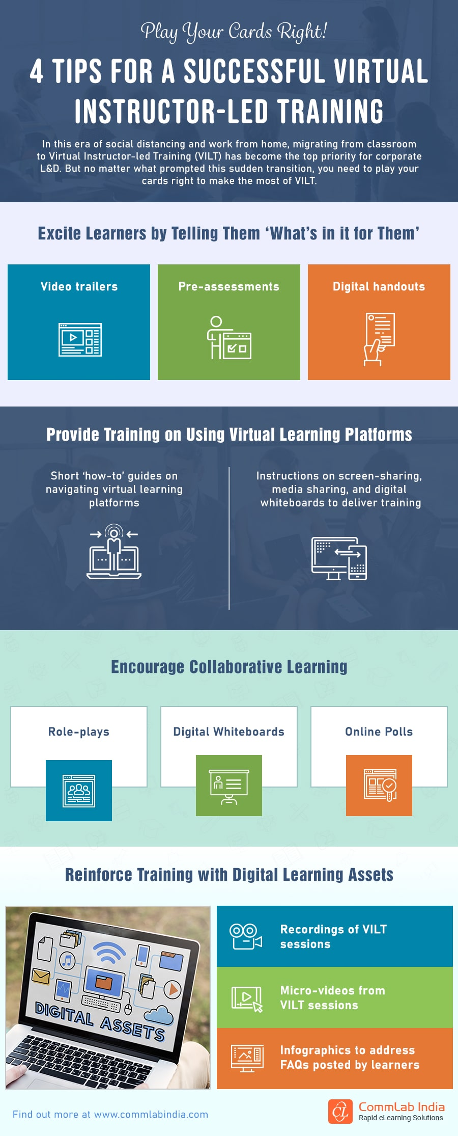 Virtual Instructor-led Training: 4 Ideas to Ensure Success