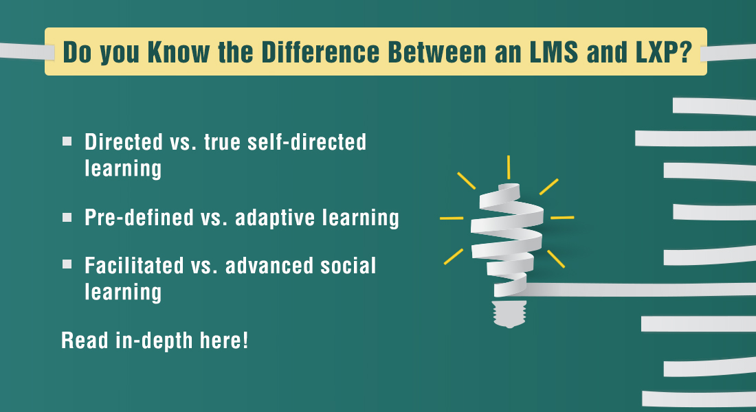 LMS vs. LXP: 3 Points of Differentiation