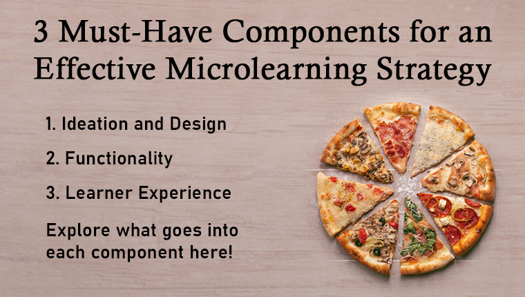 Microlearning: 3 Must-Haves for a Successful 'Bite-Sized' Training Strategy