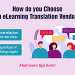 eLearning Translation: How to Choose the Right Outsourcing Vendor