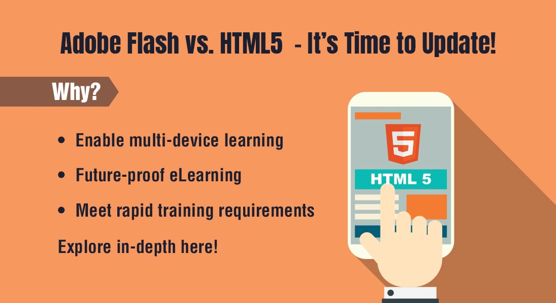 So Long, Adobe Flash; Welcome, HTML5!