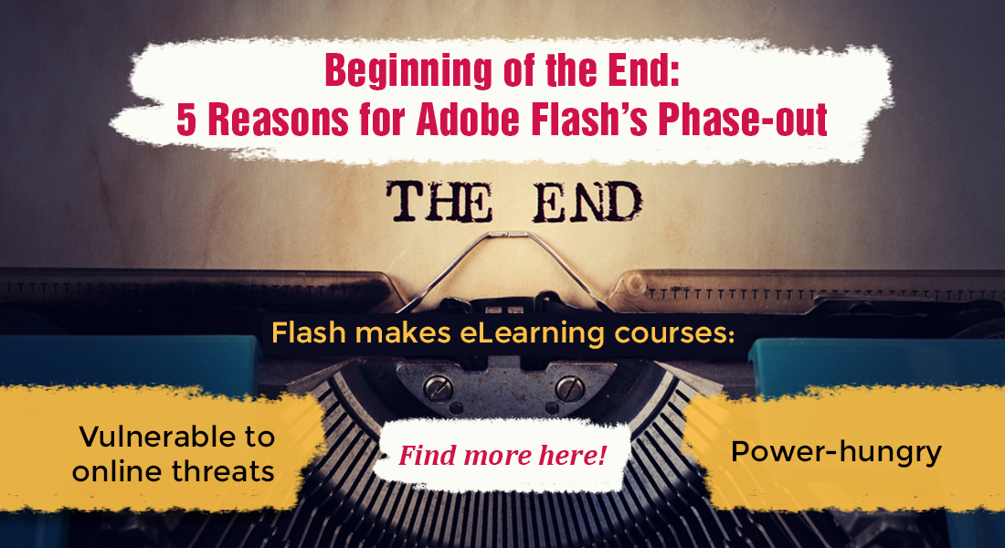5 Reasons for the Imminent End of Adobe Flash