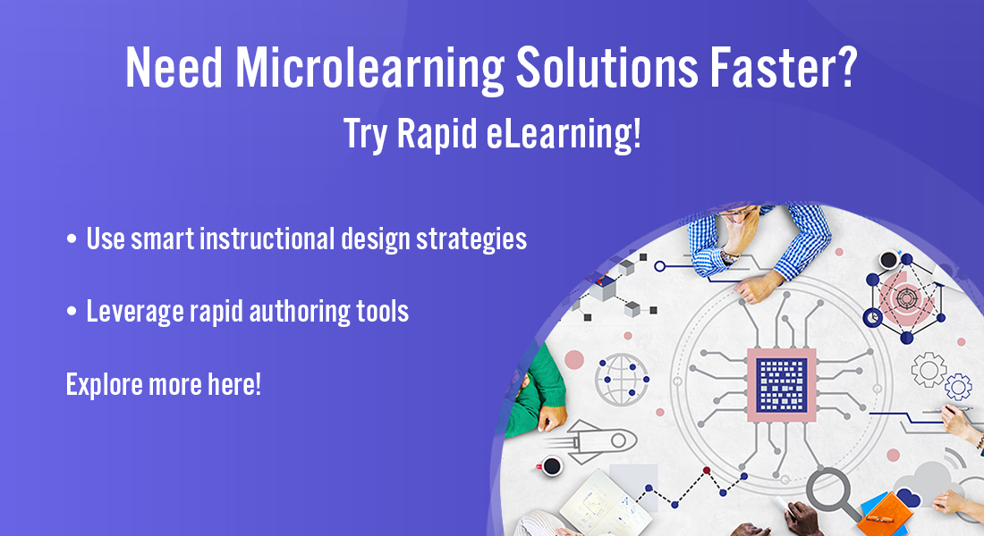 How to Create Quick Microlearning Courses using Rapid eLearning [Infographic]