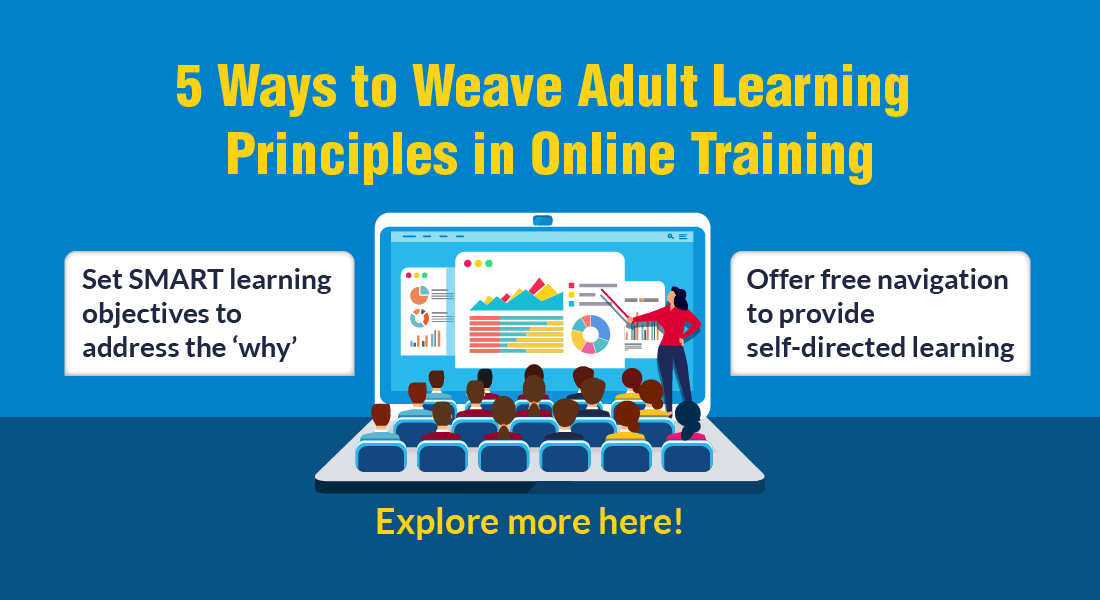 Effective Online Training Design : 5 Adult Learning Principles to Follow