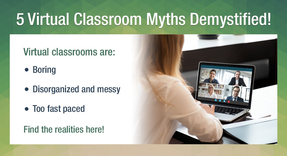 Virtual Classrooms: 5 Common Myths Debunked