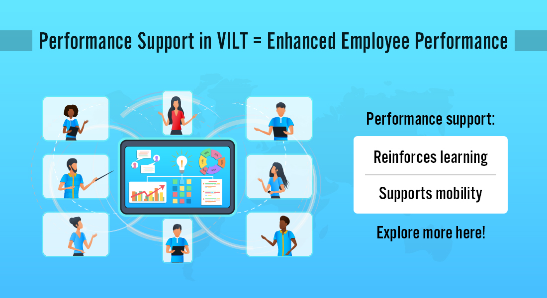 5 Reasons to Offer Performance Support in VILT