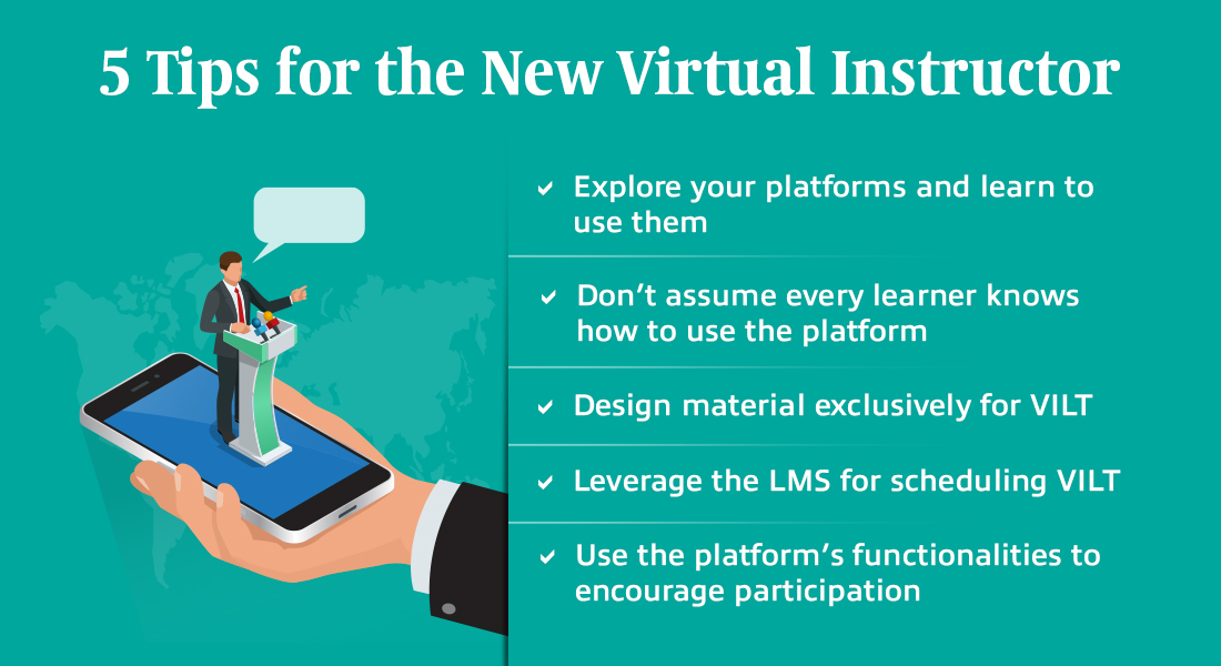 5 Tips for the Virtual Instructor to Revolutionize Virtual Training
