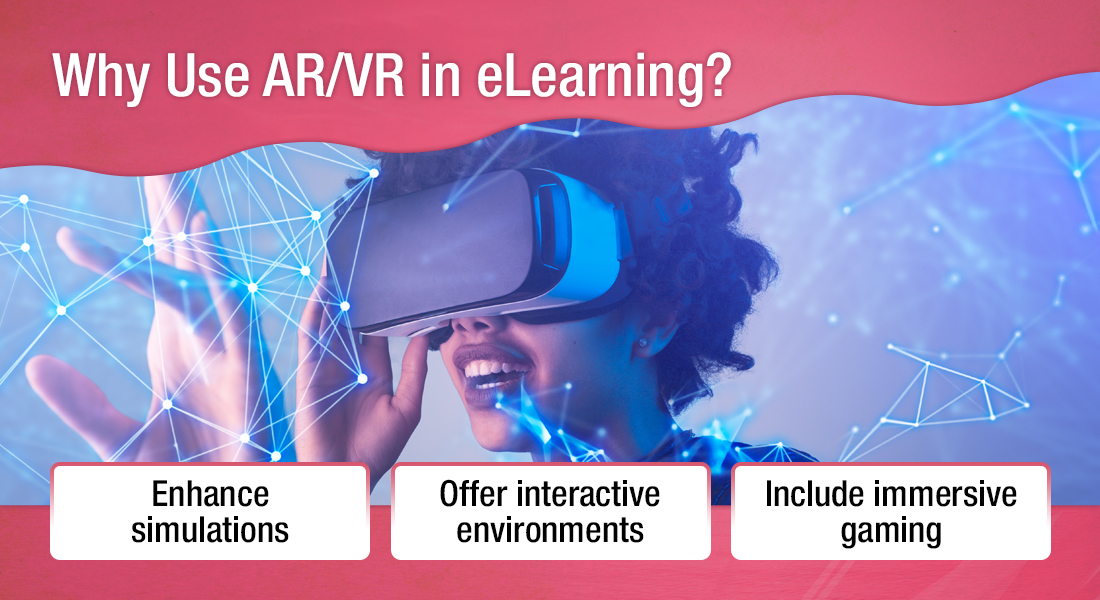 New Age Corporate Training with AR and VR in eLearning [Infographic]