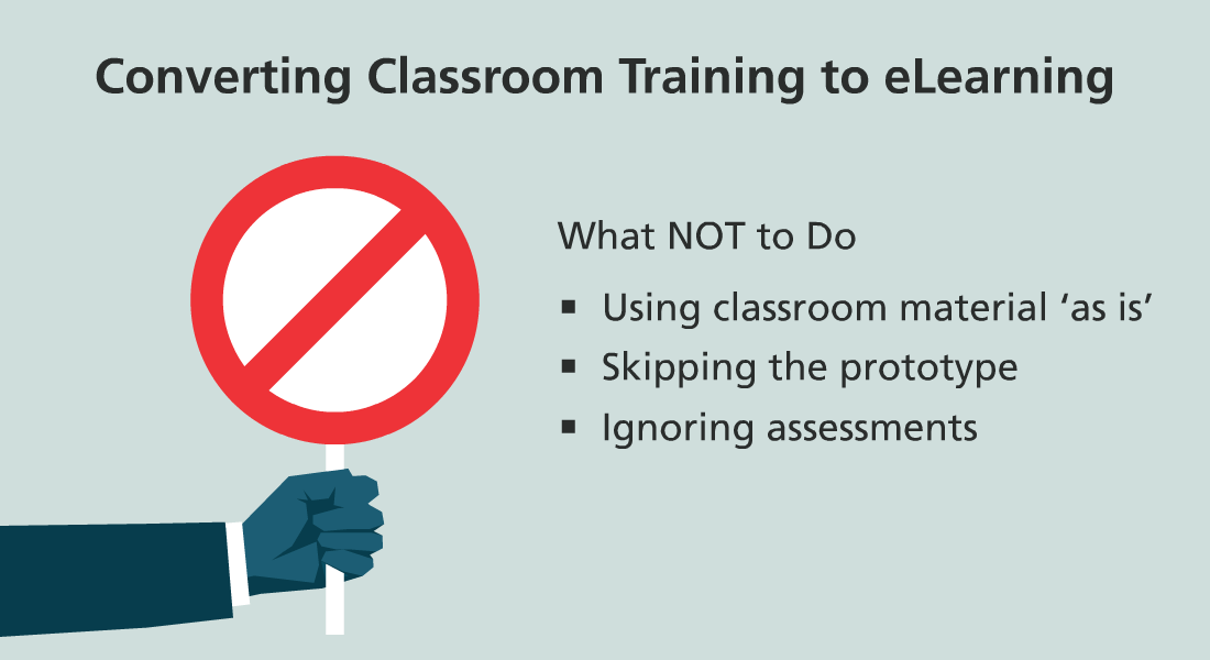 Classroom Training to eLearning Conversion: 5 Pitfalls to Look Out For