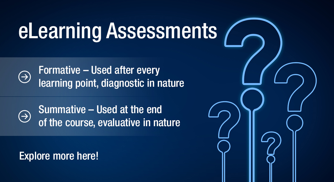 eLearning Assessments – How Well Do You Know Them? [Infographic]