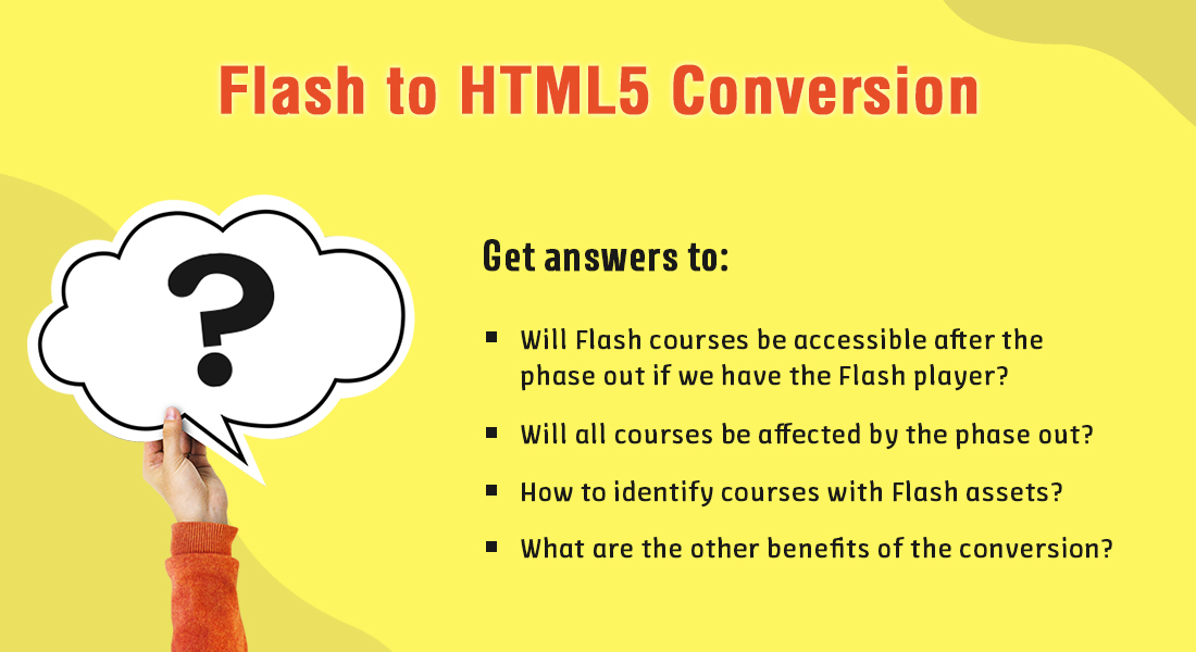 Flash to HTML5 Conversion: 4 Unusual Questions Answered