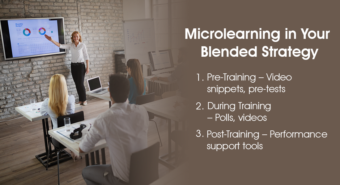 How to Use Microlearning Before, During, and After Training [Infographic]