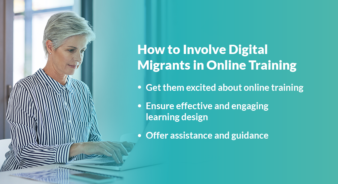 Online Training from the Classroom – Transition Easy for Digital Migrants