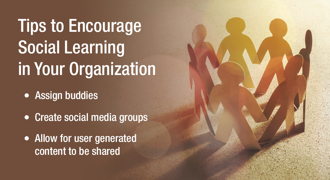 5 Social Learning Tips for Effective Online Training [Infographic]