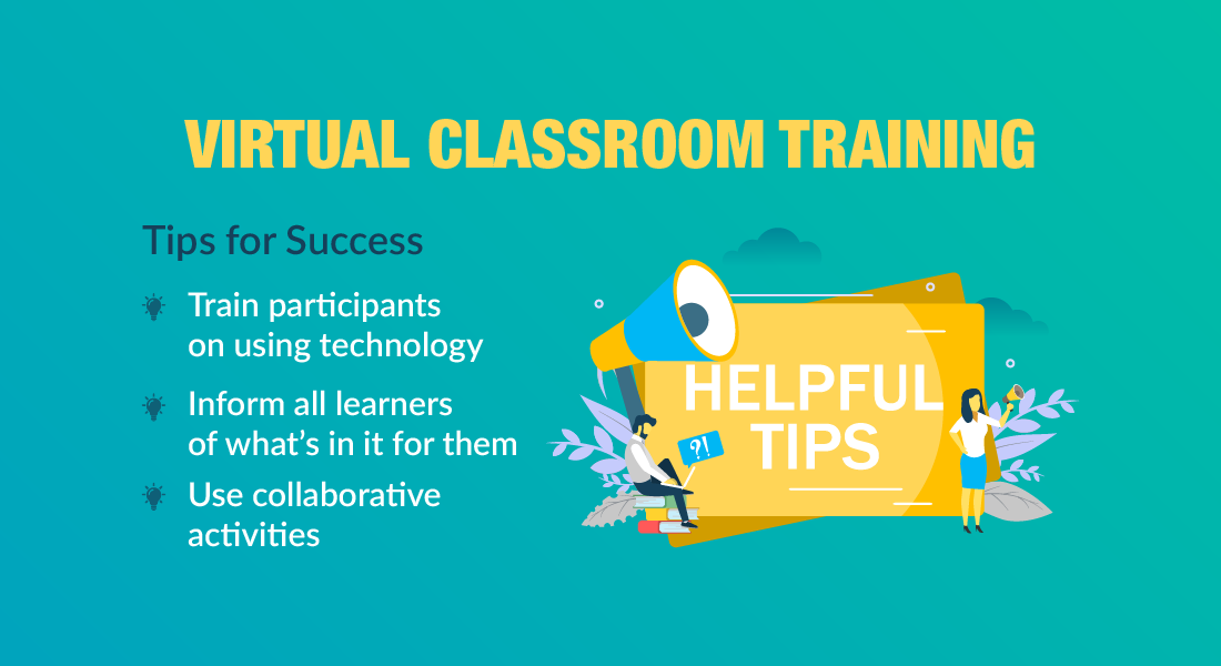 Quick Tips for Successful Virtual Classroom Sessions [Infographic]