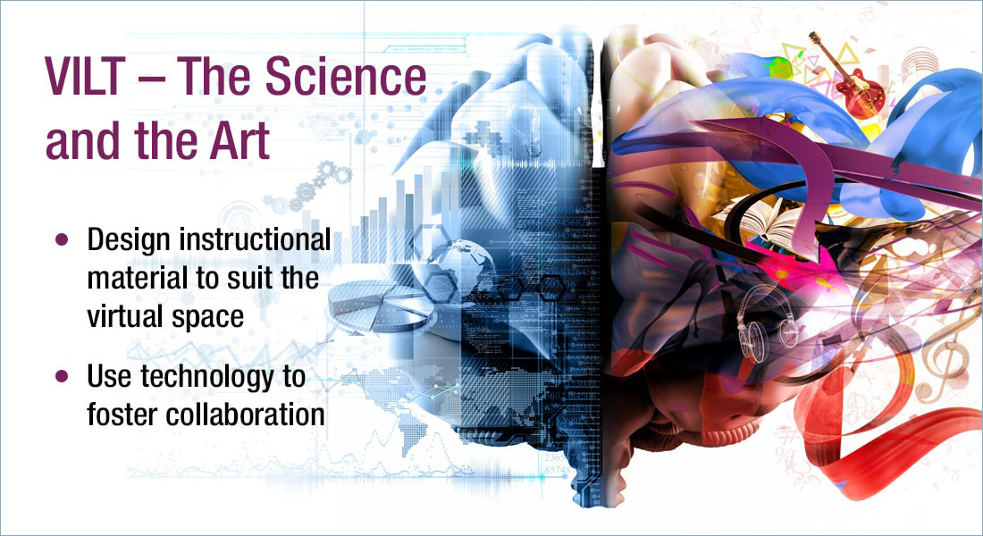 Virtual Instructor-led Training – A Science or an Art?