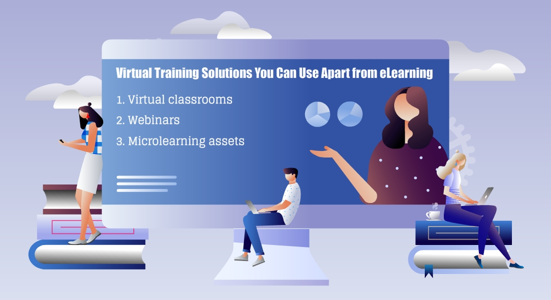4 Virtual Training Solutions to Supplement Corporate Online Training