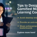 Mobile Learning: Handy Tips to Design Gamified Courses