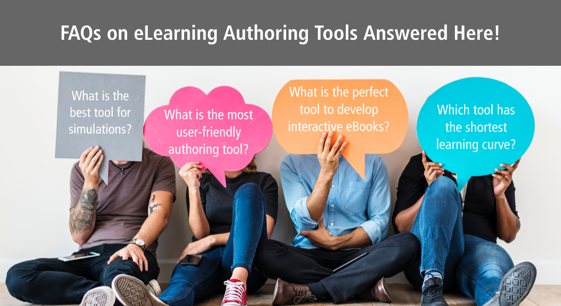 5 FAQs on eLearning Authoring Tools Answered! [Infographic]