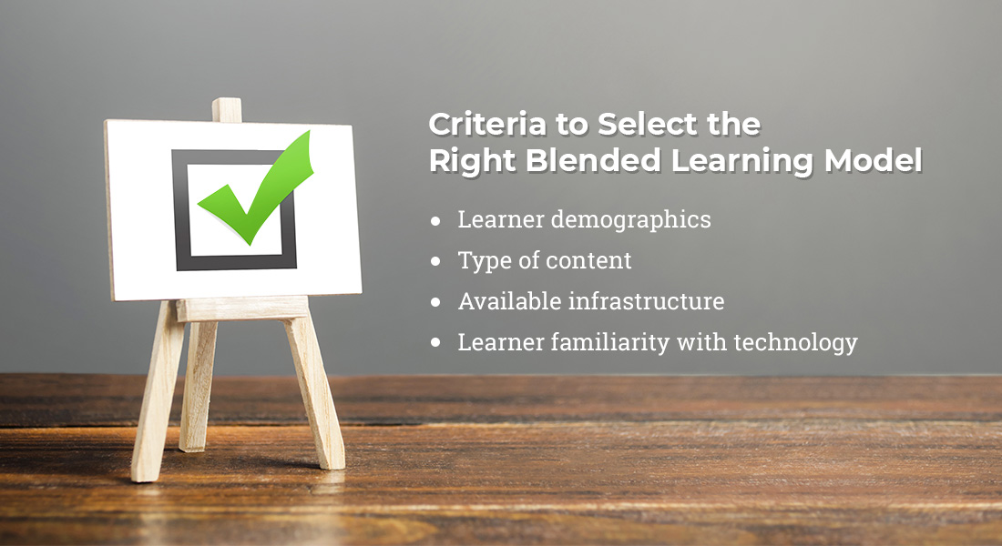 Blended Learning Model: Factors that Influence your Choice