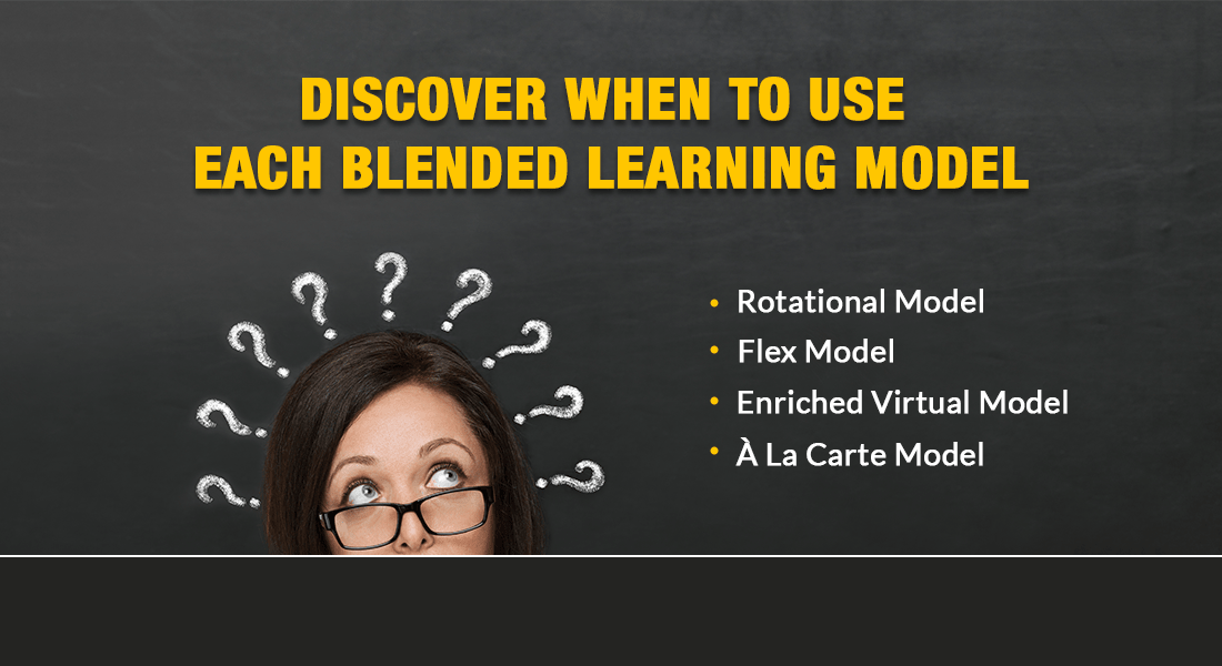 Blended Learning Models: When to Use What [Infographic]