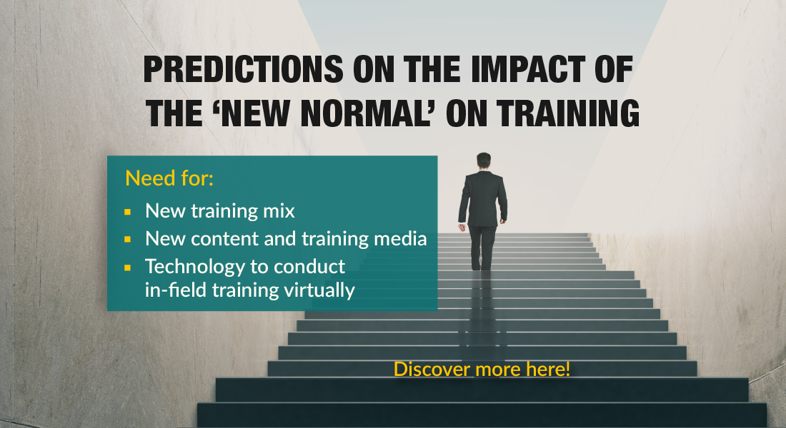 Predictions on the Impact of the 'New Normal' on Training [Infographic]