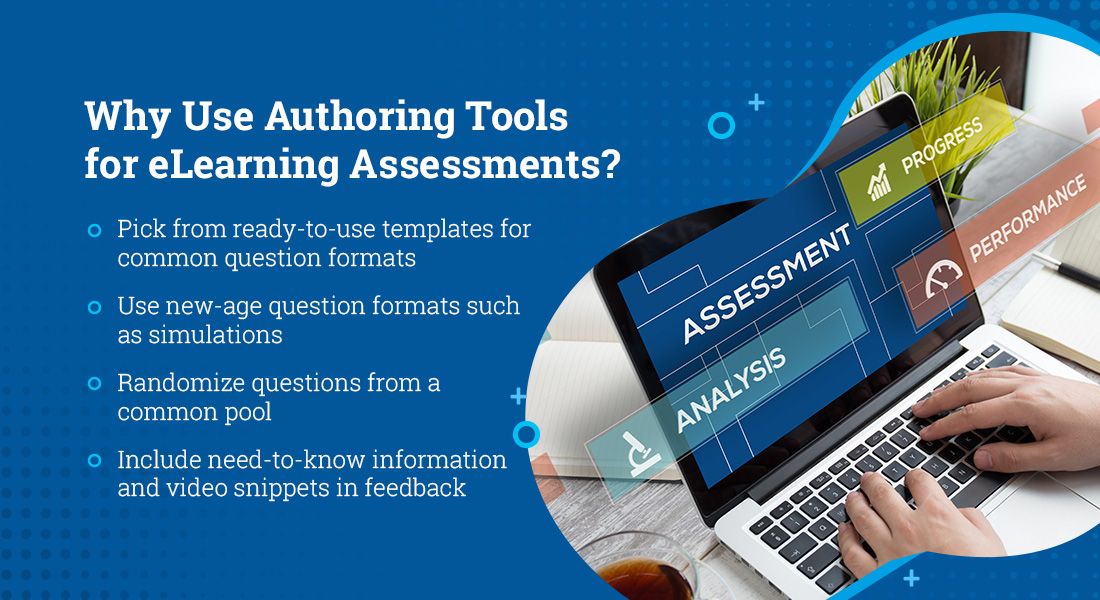 eLearning Assessment Creation with 4 Popular Authoring Tools