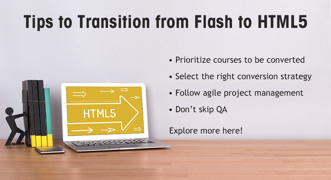 9 Tips to Help You Transition from Flash to HTML5 [Infographic]