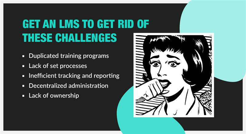Learning Management System: 5 Challenges When you DON'T Have One