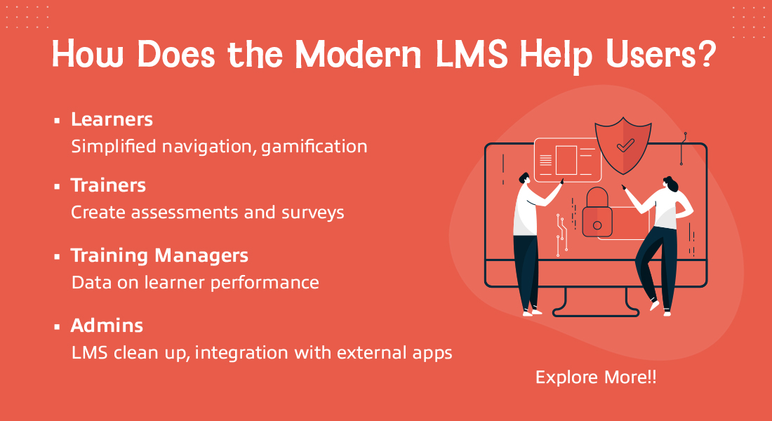 The New-Age LMS: Making Training Easy for Different Users [Infographic]