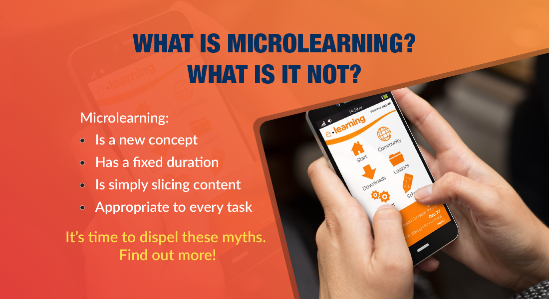 What Microlearning Is and What It Isn't! [Infographic]
