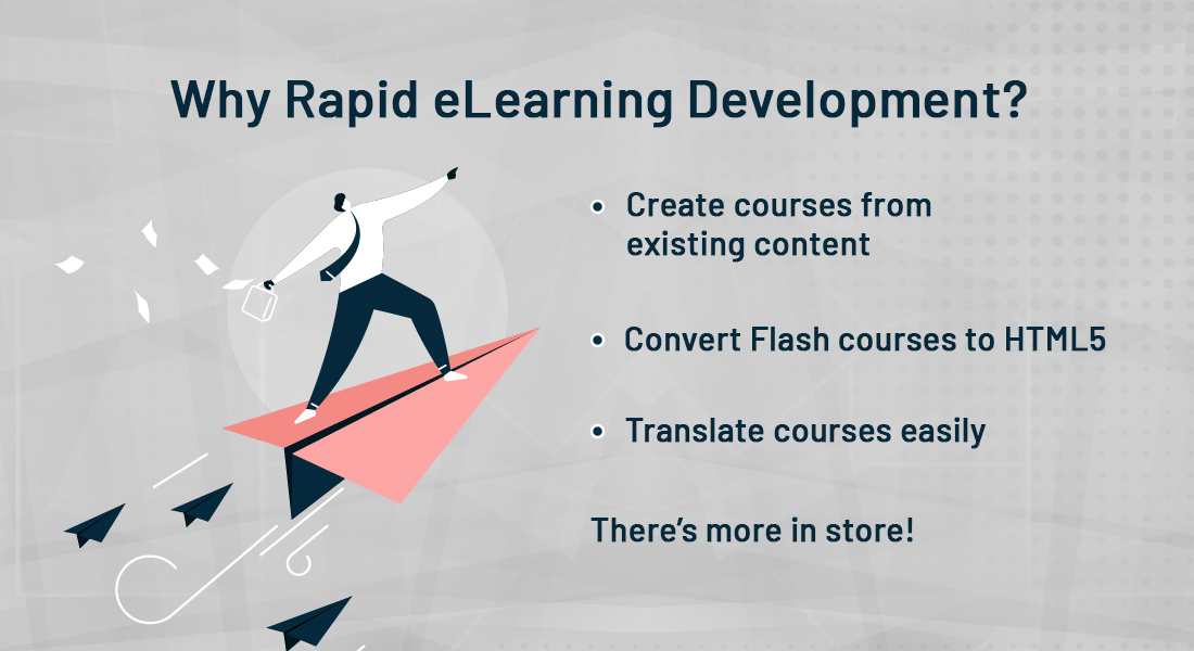5 Compelling Reasons for Rapid eLearning Development [Infographic]