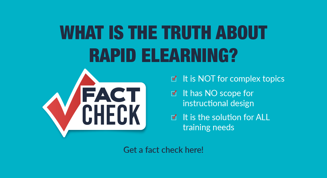 Rapid eLearning Implementation: Myths Vs Facts