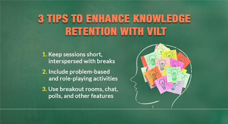 Virtual Instructor-led Training (VILT): How to Enhance Knowledge Retention