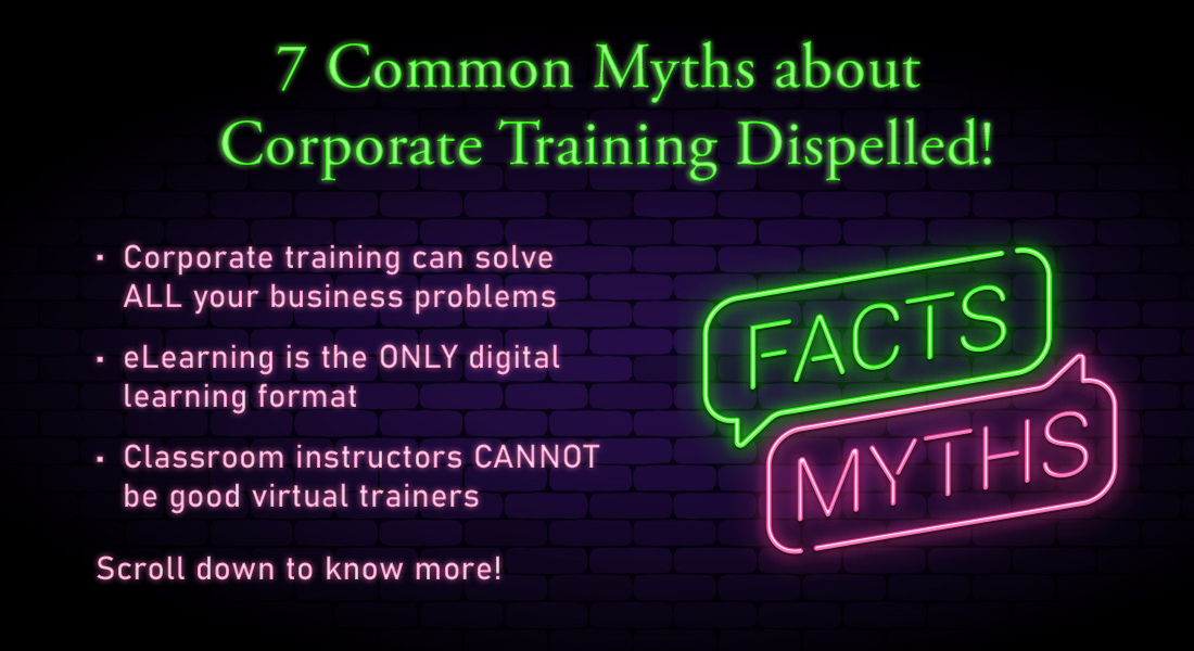 Corporate Training: 7 Myths You Need to Dispel