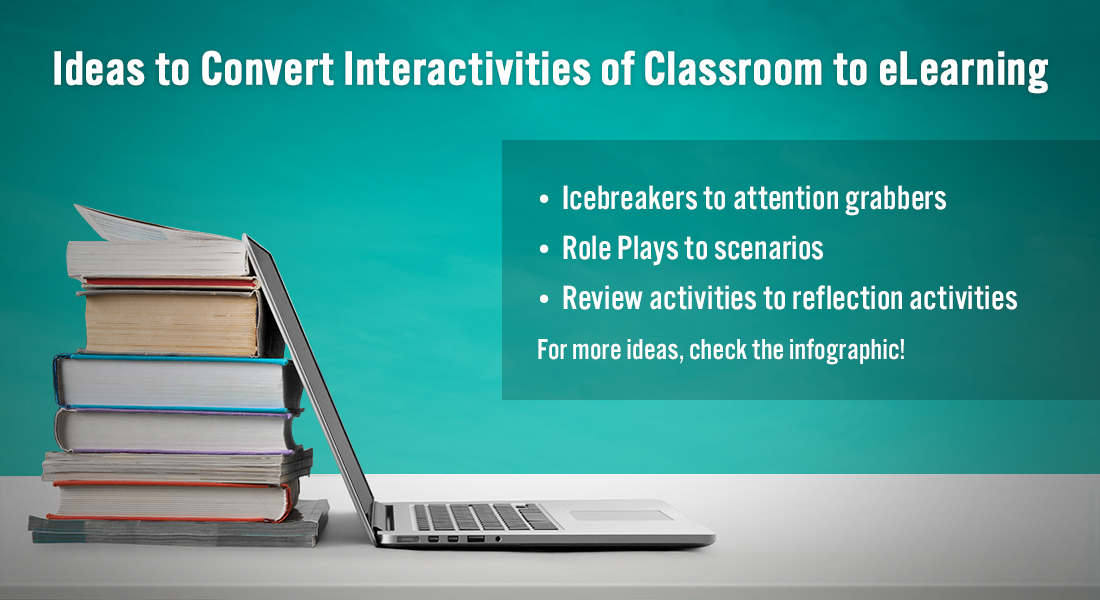Classroom to eLearning: Converting Face-to-Face Interactivities to an Online Format