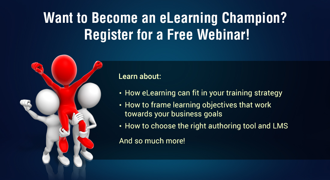 Become an eLearning Champion: Practical Insights on Online Training