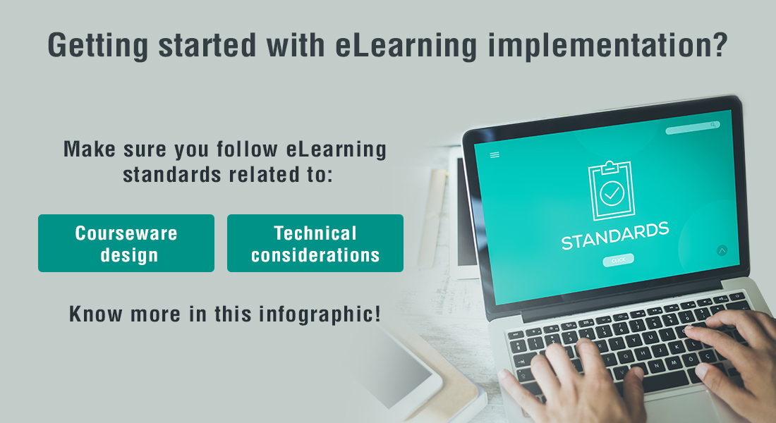 Standards to Consider when Implementing eLearning [Infographic]