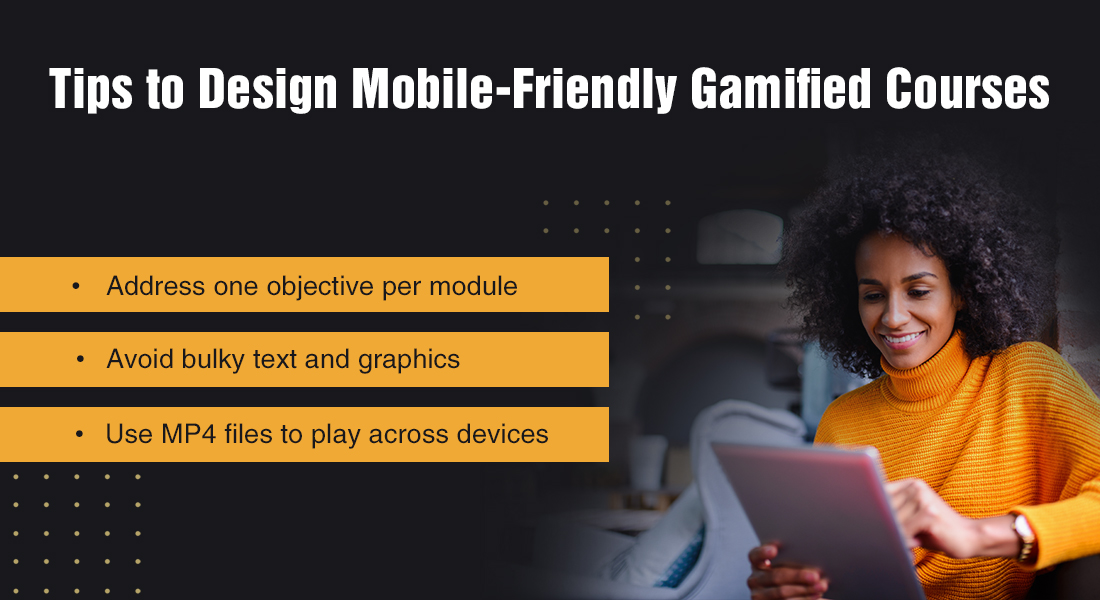 6 Tips to Design Mobile-Friendly Gamified Courses [Infographic]