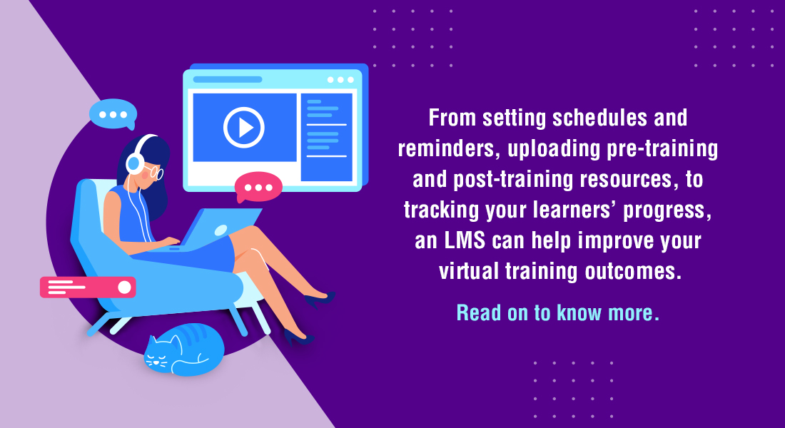 Virtual Training: How Using LMS Can Improve its Efficiency