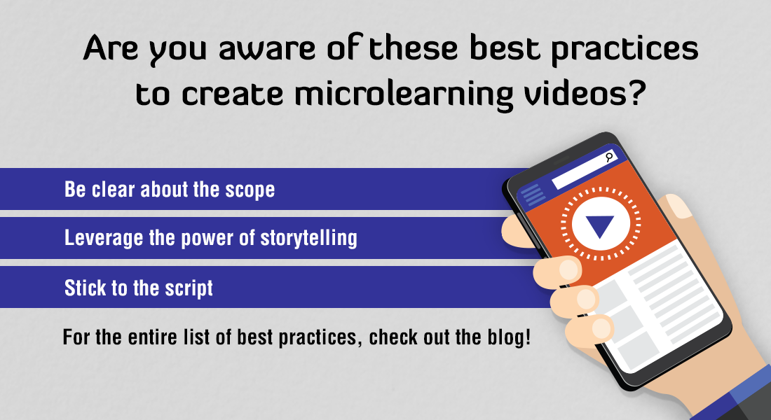 7 Best Practices to Create Microlearning Videos for Employee Training