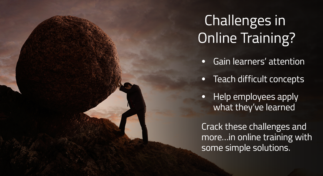 Designing Online Training: 9 Challenges and Solutions [SlideShare]