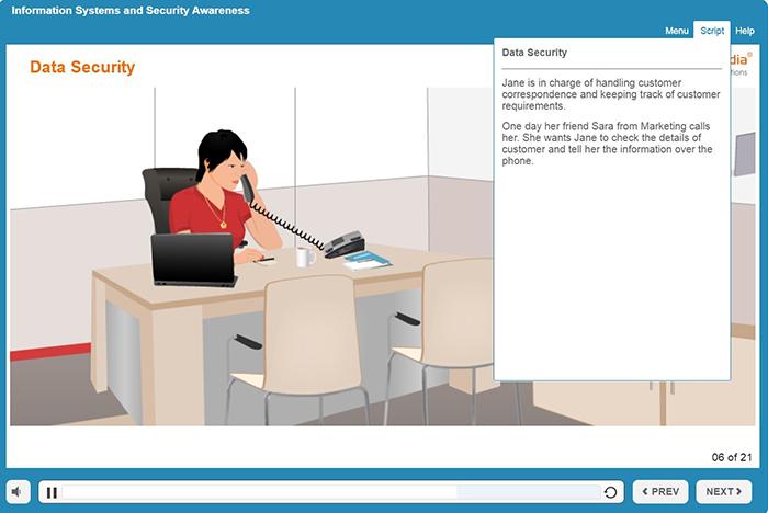 Scenarios in Compliance Training