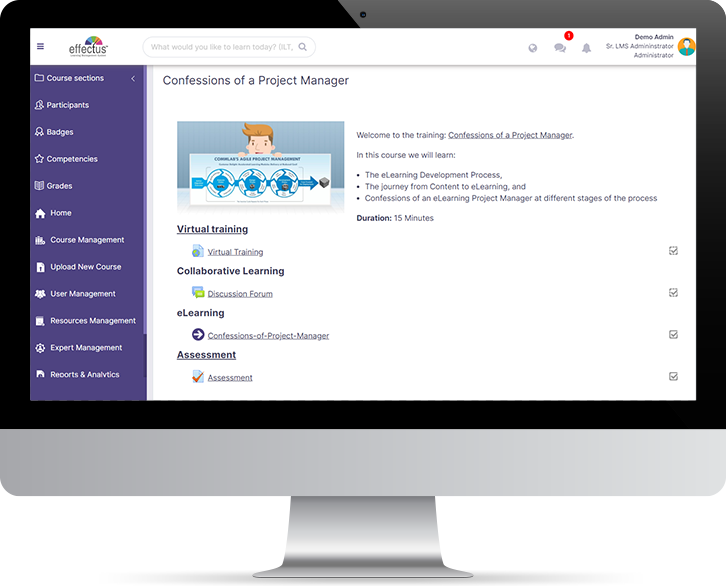 VILT Integrated with LMS